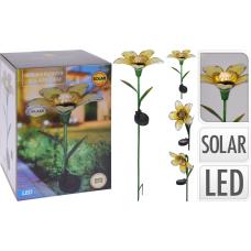 Květina solární zapichovací 3ASS