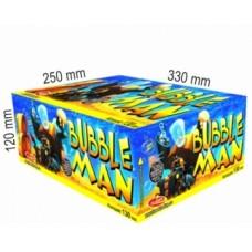 Bubble man - kompaktní ohňostroj - kompakt 130 ran (Emperor Fireworks)