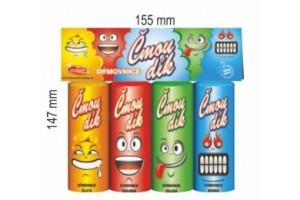 Čmoudík - barevné dýmovnice 4 ks