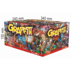 GRAFFITI - kompaktní ohňostroj - kompakt 88 ran