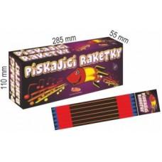 Rakety set. 12x12ks (144ks) Pískající Raketky