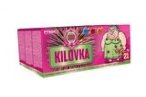 Pyrotechnika KILOVKA - kompakt 100 ran