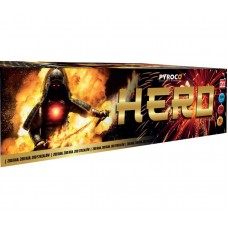 Pyrotechnika HERO - BEST PRICE - kompakt 200 ran / 20 mm