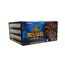 MISTRAL - kompaktní ohňostroj - kompakt 110 ran
