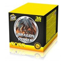 DRAGON POWER - kompaktní ohňostroj - kompakt 36 ran / 25 mm