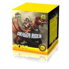 DRAGON RIDER - kompaktní ohňostroj - kompakt 25 ran / 30 mm